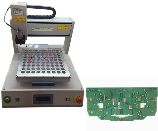 PCB Routing Machine for PCB Panels with Milling Joints,CWD-3A
