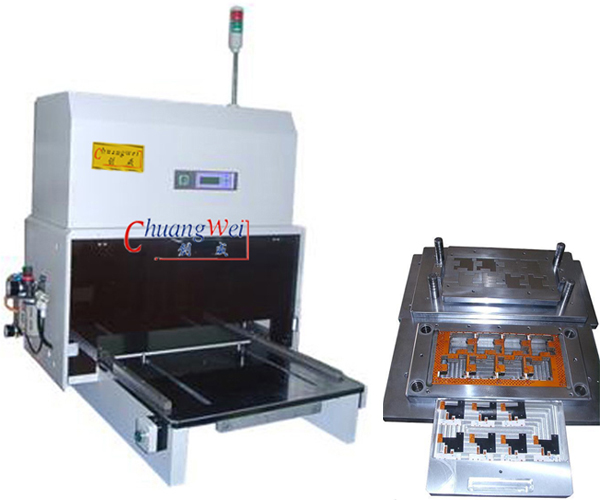 PCB Punching Machine for FPC/PCB Panels,CWPL