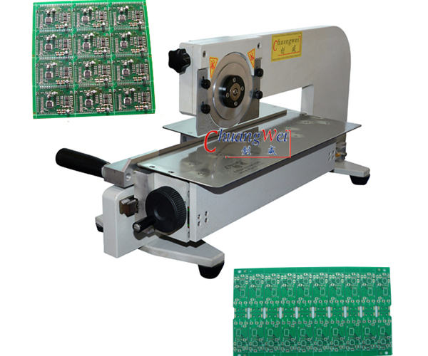 Manual V-cut PCB Separator Machine,CWV-2M