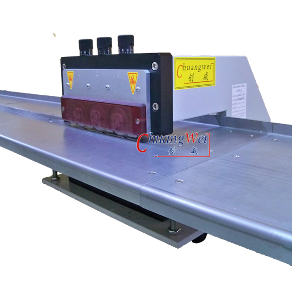 V-cut Groove PCB Depaneling Machine Effective Depanel Length,CWVC-3S