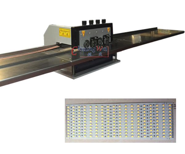 1.2M PCB V Cutter Machine with Working Table for Factory,CWVC-4S