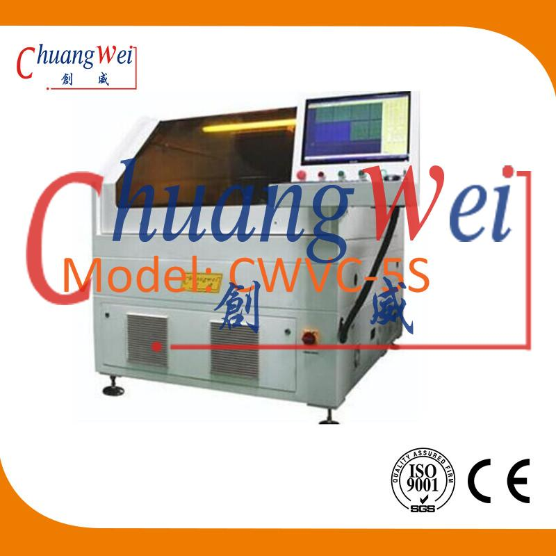 FPC Flexible PCB Laser Cutting Machine, CWVC-5S