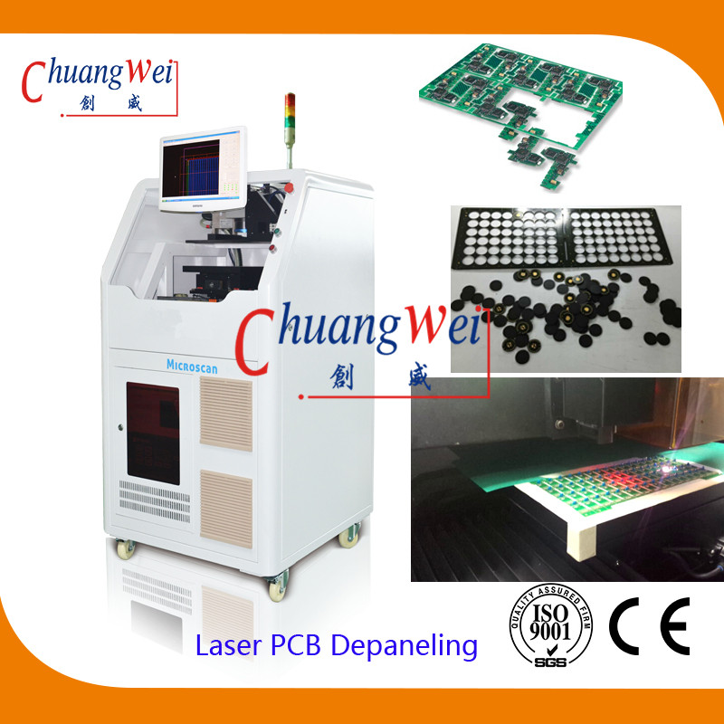 Laser PCB Cutting Machine with 10W Germany Laser,CWVC-6