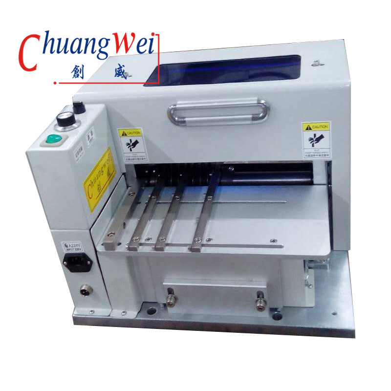 multi-blade pcb depaneling machine, CWVC-1SN