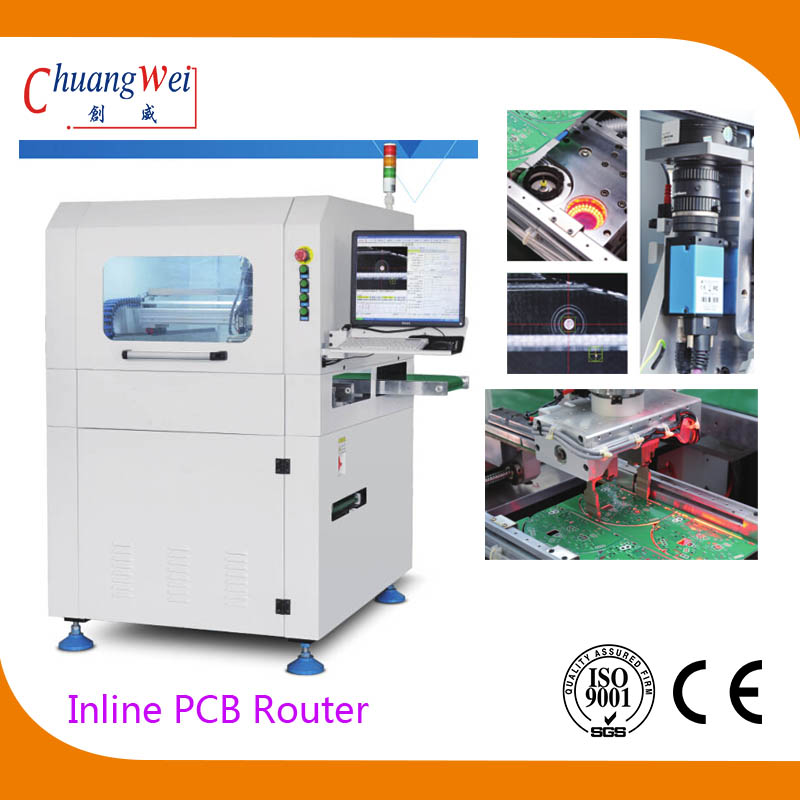 Inline PCB Depaneling Router