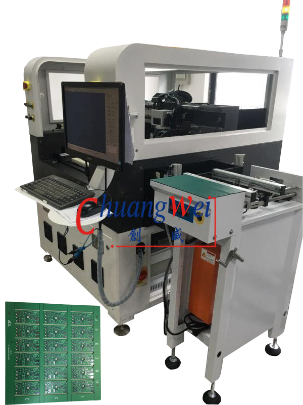 Automatic Inline FR4 PCB Laser Depanelizer Machine