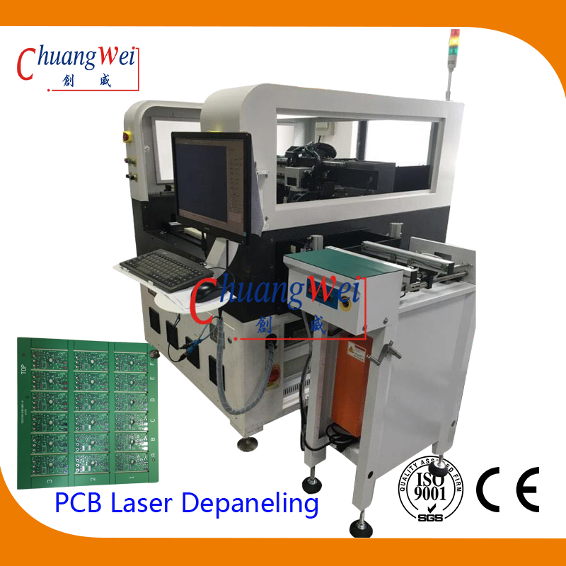 Lase Depaneling Equipment Inline Laser PCB Depanelizer