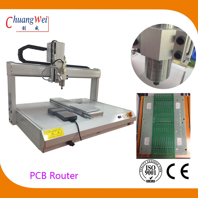 0.1mm Accuracy Desktop PCB Router for Cutting PCB Boards,CWD-3A