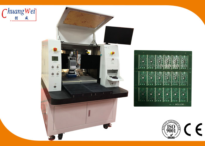 Dual Table Laser Depaneling